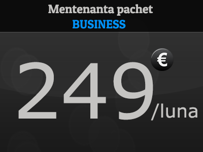 mentenanta site pachet Business
